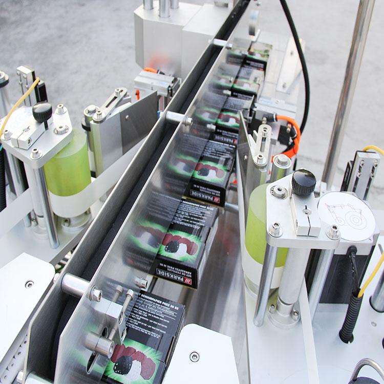 Detalii despre mașina de etichetare automată a colțului cutiei de carton