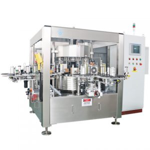 Filling Capping Bottle Cap Automatic Capping Labeling Machine
