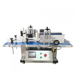 Abroad Service Automatic Bottle Sticker Adhesive Labeling Machine