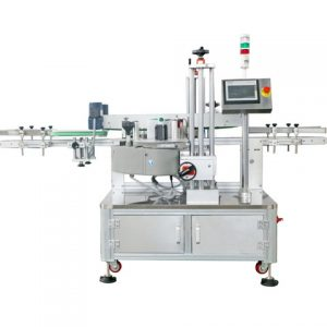 Automatic Flat Labeling Machine For Cards