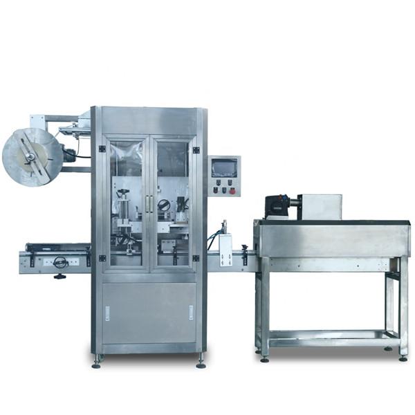 Mașină automată de etichetare a manșonului termocontractabil